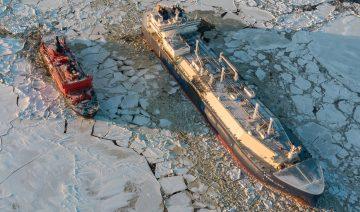 [:en]атомный ледокол «50 лет Победы» и арктический газовоз «Федор Литке»_Дмитрий Лобусов[:]